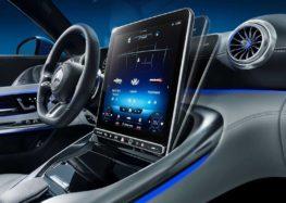 Mercedes показала фото салону нового SL
