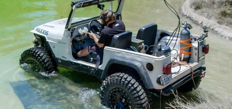 Автомобілі Jeep зможуть їздити під водою