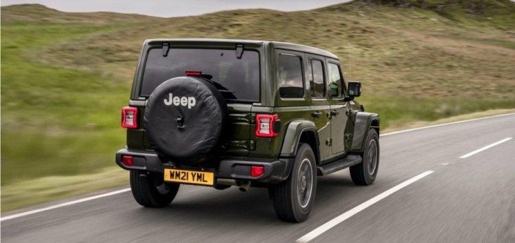 Jeep представив ювілейну версію Wrangler