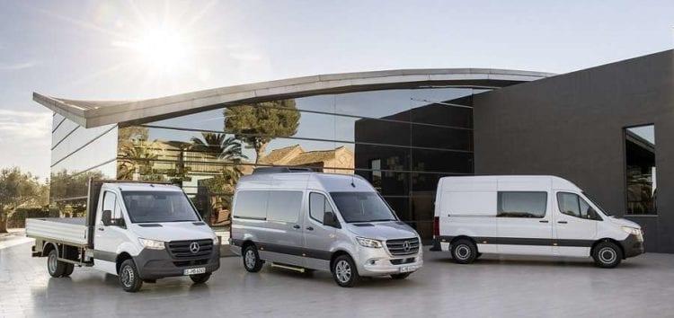 Mercedes-Benz Sprinter випустять з новими моторами та коробкою передач