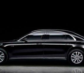 Mercedes-Benz показав броньований седан S-Class