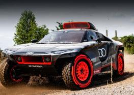 Audi представила гібридний гоночний автомобіль для участі в ралі Дакар