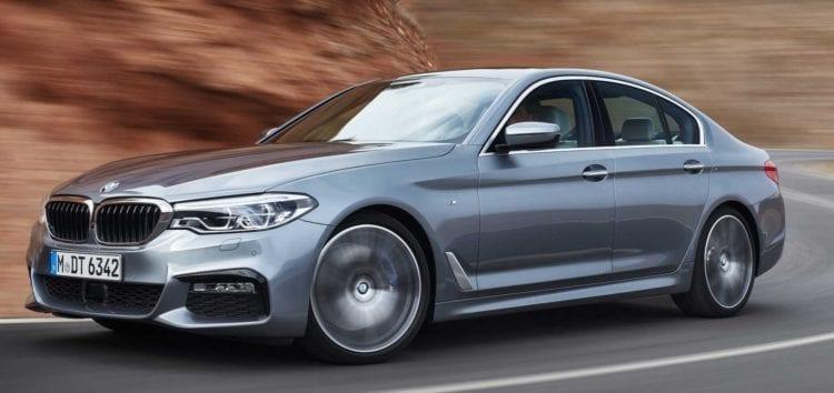 BMW вивела на тести новий електромобіль 5-Series