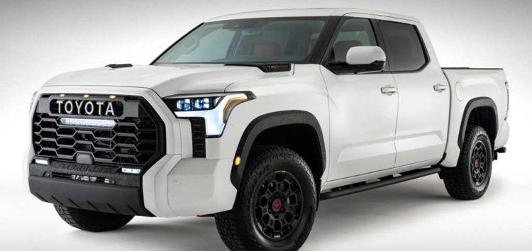 Toyota розповіла про новий пікап Tundra 2022 року