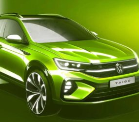 Volkswagen показала новий компактний кросовер Taigo