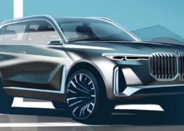 Флагманський електромобіль BMW X8 тестують в Європі