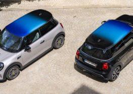 Автомобілі Mini отримали новий дах Multitone