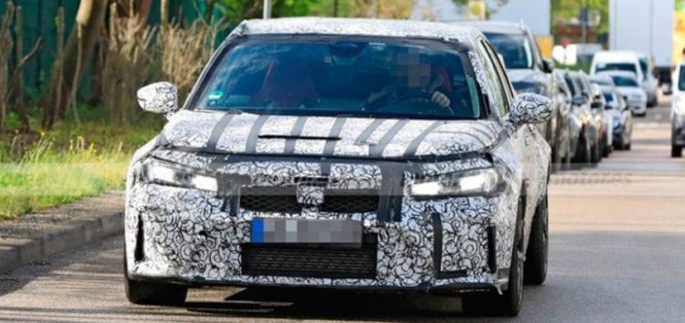В Європі помітили модель Honda Civic Type R