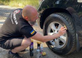 Тест засобів для чорніння гуми (відео)