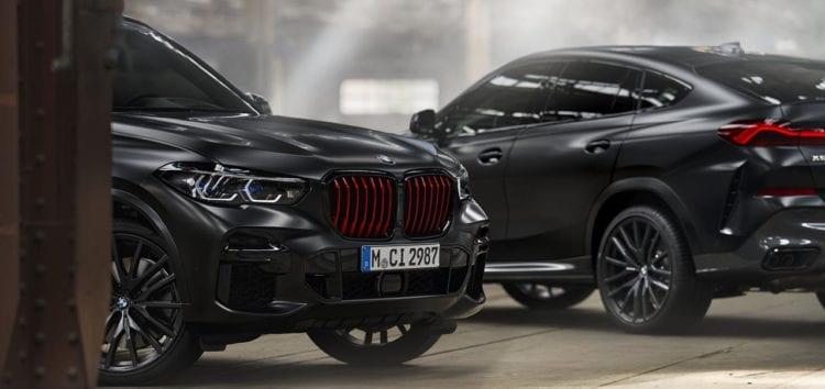 У BMW X5 та BMW X6 з'явилась версія Black Vermilion