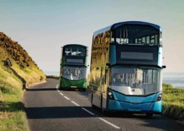 Wrightbus випустить двоповерховий електричний автобус
