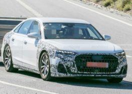 Audi тестує нову версію седану A8