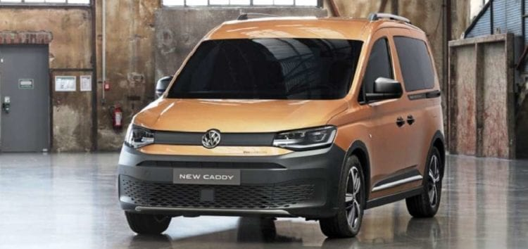 Представили кросоверну версію Volkswagen Caddy