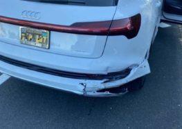 Сервіс Audi шокував ціною битого бампера e-tron