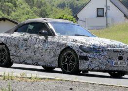 Mercedes випустить новий кабріолет CLE