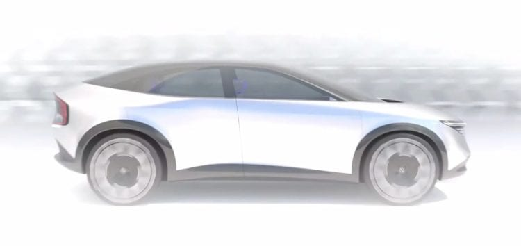 Кросовер Nissan Leaf здався на перших зображеннях