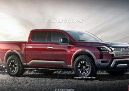 Представлені перші рендери Nissan Titan 2024 року