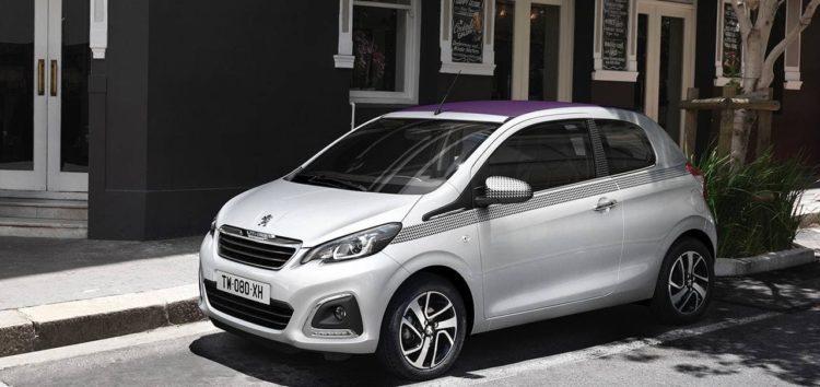 Peugeot оновила модель 108