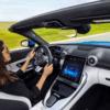 Новий Mercedes-Benz SL Roadster отримав революційний дисплей