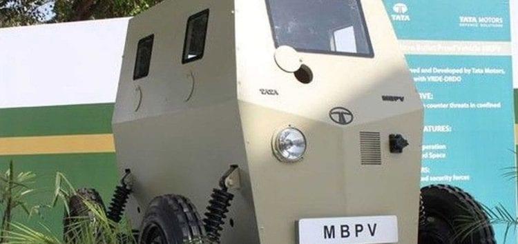 Tata Motors представила незвичайну штурмову машину