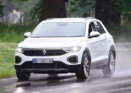 Оновлені VW T-Roc і T-Roc R-Line помітили без камуфляжу