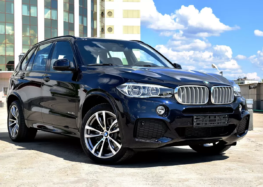 Оновлений BMW X5 попався шпигунам