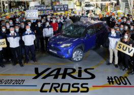 Toyota почала випуск в ЄС міні-кроссовера