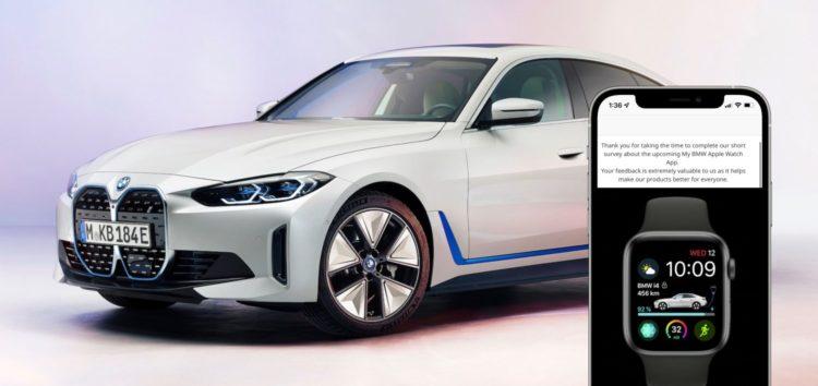 BMW готує додаток Apple Watch для управління електрокарами