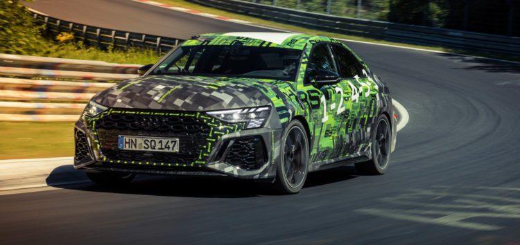 Audi RS3 встановила новий рекорд Нюрбургрінг