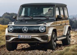 Mercedes представить електричний позашляховик EQG