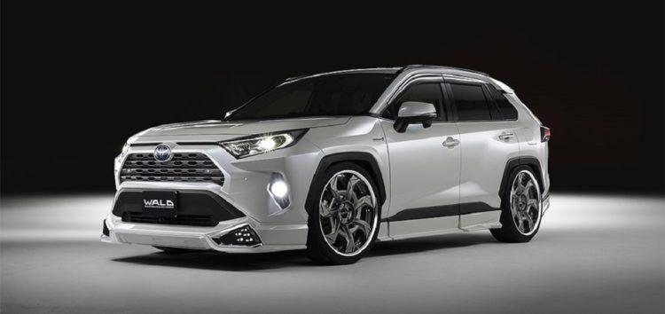 В Японії зробили тюнінг Toyota RAV4 2021