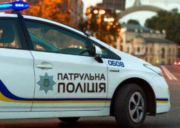 Українець отримав штраф за намальований номер