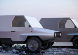 Дизайнер представив позашляховик ЛуАЗ нового покоління на електротязі