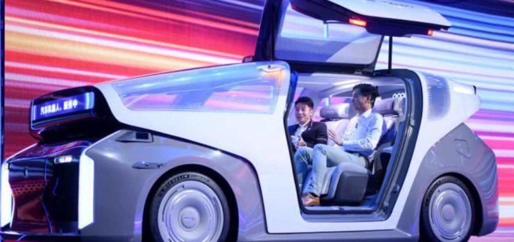 Китайська Baidu презентувала прототип робот-автомобіля