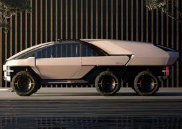 Стартап Canoo представив свій електричний пікап-трансформер