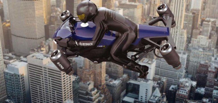 У Штатах зроблять летючий мотоцикл