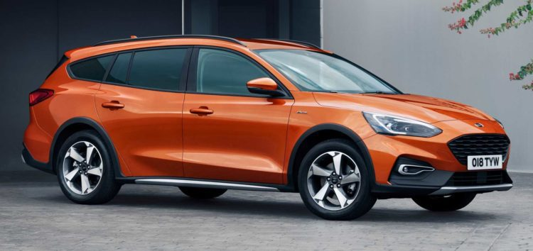 Ford тестує новий Focus Active для європейського ринку