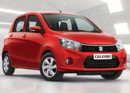 Suzuki представив найдешевший автомобіль Celerio
