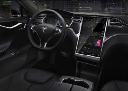 Електрокари Tesla Model S можуть самі паркуватися без радарів
