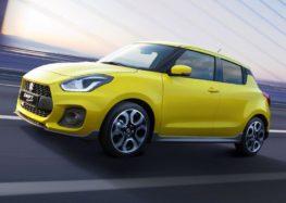Suzuki оновила модель Swift Sport
