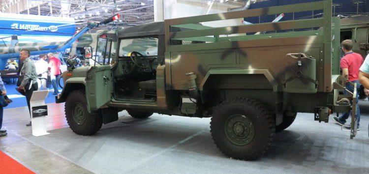 Автомобілі української армії побудують на базі Kia KM-450