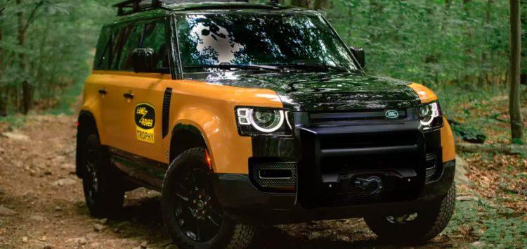 Land Rover представив нову модель Defender Trophy