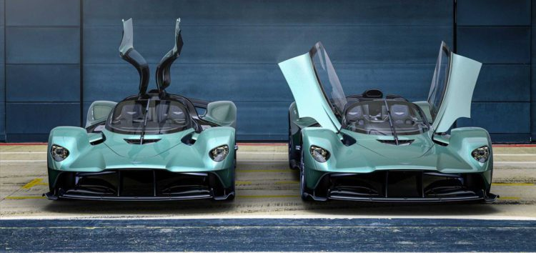 Гіперкар Aston Martin Valkyrie випустять без даху