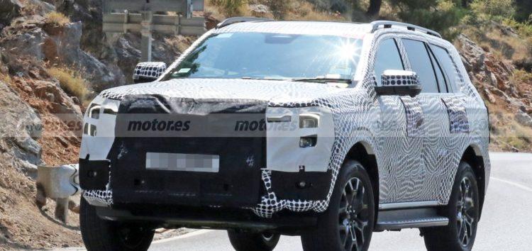 У Європі тестують нове покоління Ford Everest
