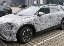 Audi тестує прототип нового електрокросовера