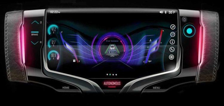 General Motors представив нове рульове колесо
