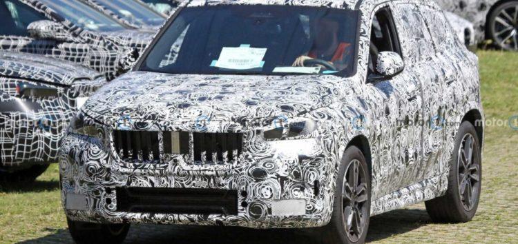 Оновлений BMW X1 показали на перших фотографіях