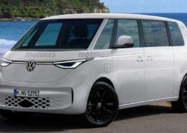 Електричний мінівен Volkswagen представили на рендерних фото