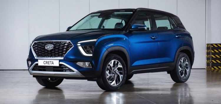 Оновлений автомобіль Hyundai Creta вже доступний до замовлення