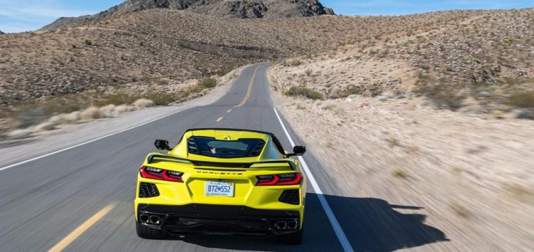 Chevrolet Corvette Z06 2023 тестують на Нюрбургринзі